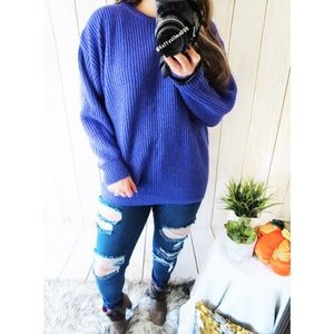 Vintage warm your soul chunky knit sweater ☕️